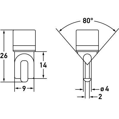 Phillips LED Festoon 38mm Long, C5W, 6418, 6461,11005
