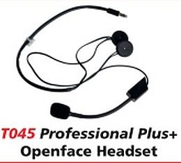 TT0445 TerraPhone PLUS Open or Full Face Intercom Headset
