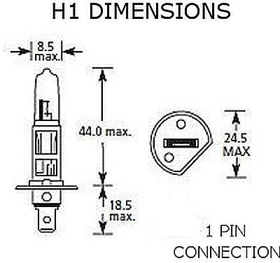 Hella HL78117 H1 12V, 55W Xenon Replacement Bulb, Premium