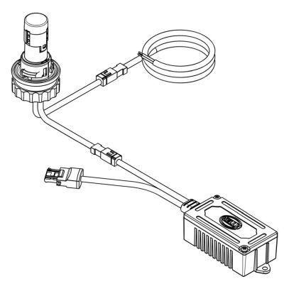 Adapter, HERO Hideaway Warning Lamps