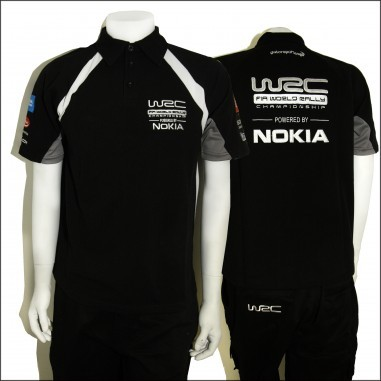 WCRE11081 Official WRC MENS POLO TShirt Style 1  Rally