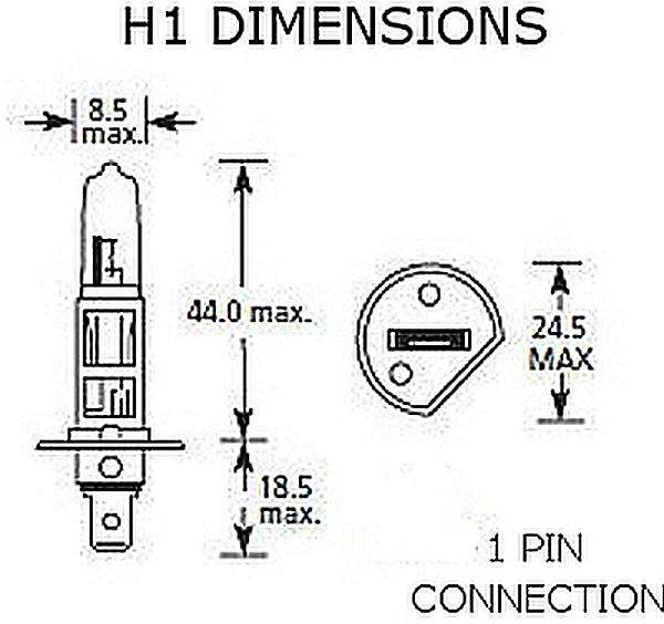 Hella High Performance Version 2.0 Xenon Blue Bulb, Pair