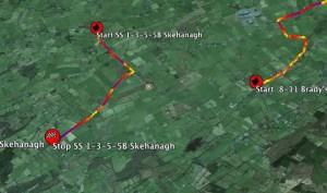Galway 2014 Jemba Speed Profiles in Google Earth