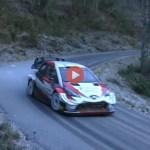 WRC, il video dell'esordio di Ogier sulla Toyota Yaris