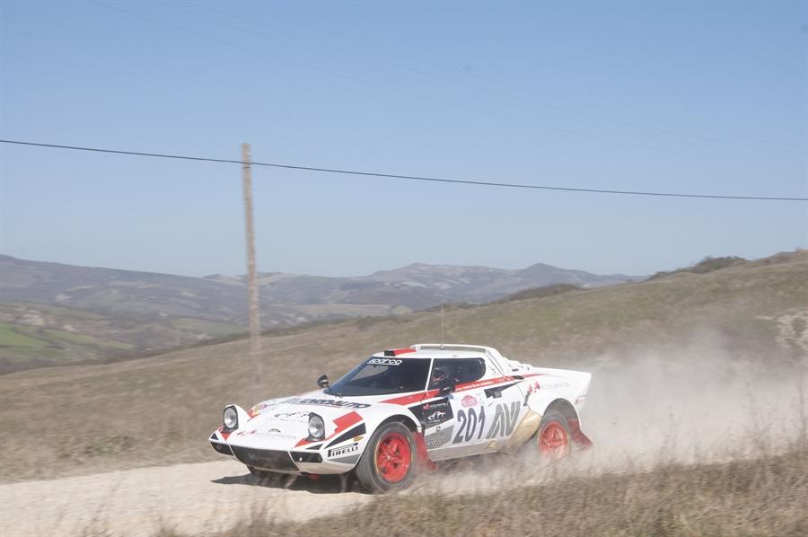 auto storiche Rally val d'orcia sipsz bregoli lancia stratos