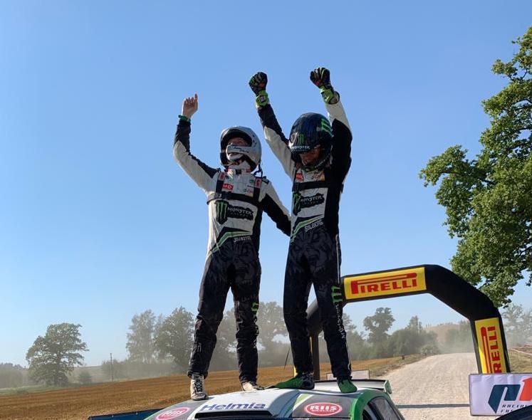 Oliver Solberg ed Aaron Johnston hanno vinto il Rally Liepaja per il secondo anno consecutivo