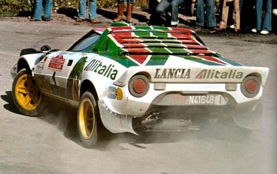 rally sanremo 1976