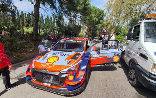 targa florio WRC