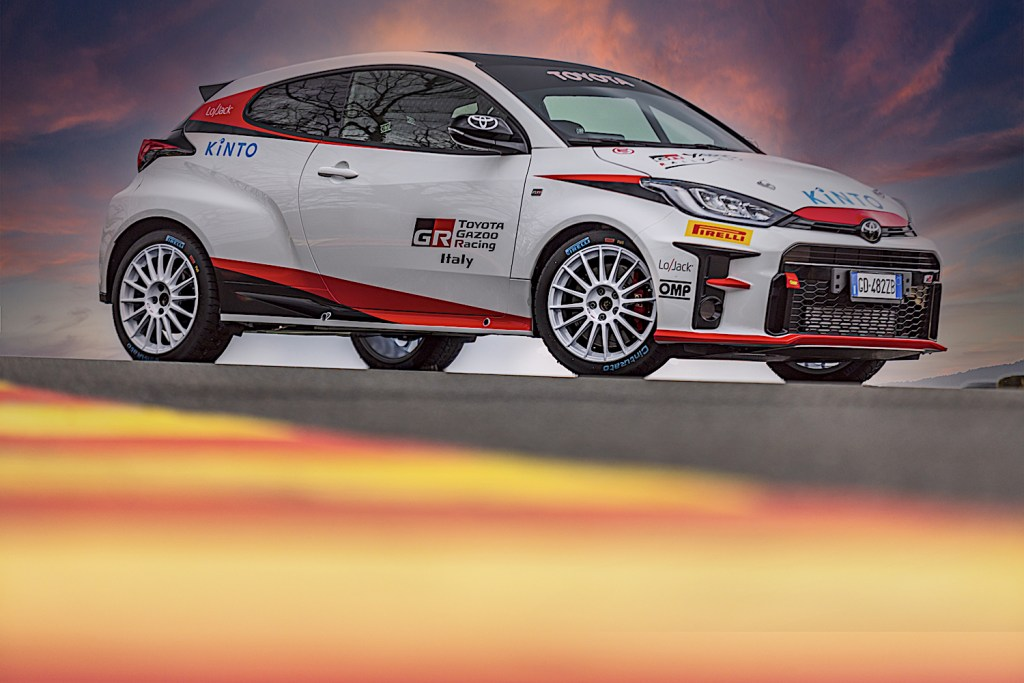 Toyota GR Yaris Rally Cup