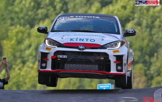 due valli toyota yaris rally cup