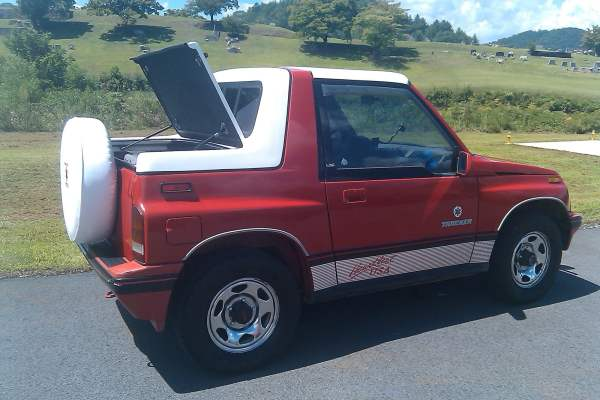 Rally Tops Quality Sport Hardtop Chevy Geo Tracker