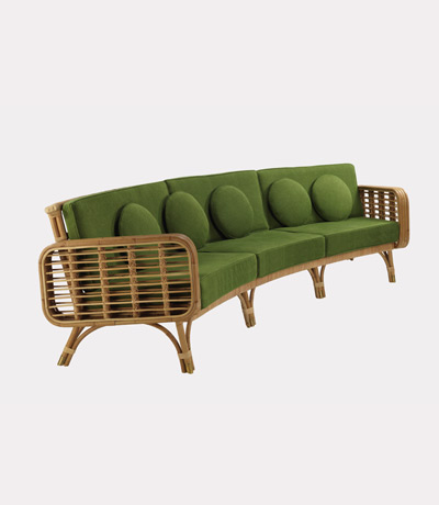 modern twine curved arm sofa bed queen size dimensions ralph pucci international furniture india mahdavi cap martin