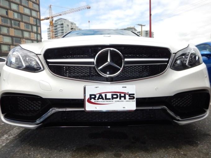 Escort 9500ci Radar System Protects Mercedes E63 AMG
