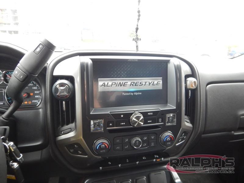 2014 Chevrolet Silverado Head Unit Replacement Alpine