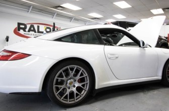 Porsche Targa 4S Stereo