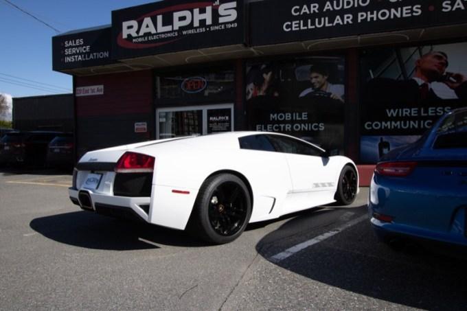 Lamborghini Murcielago Audio System for Vancouver Client