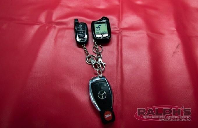 Mercedes ML63 Alarm