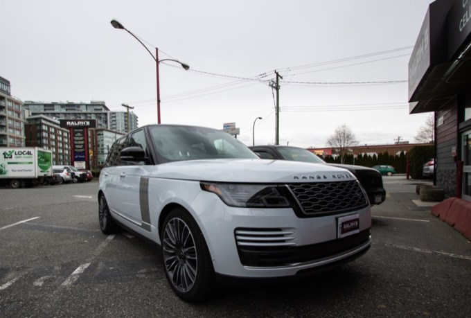 Vancouver Client Gets Range Rover Bass Upgrade