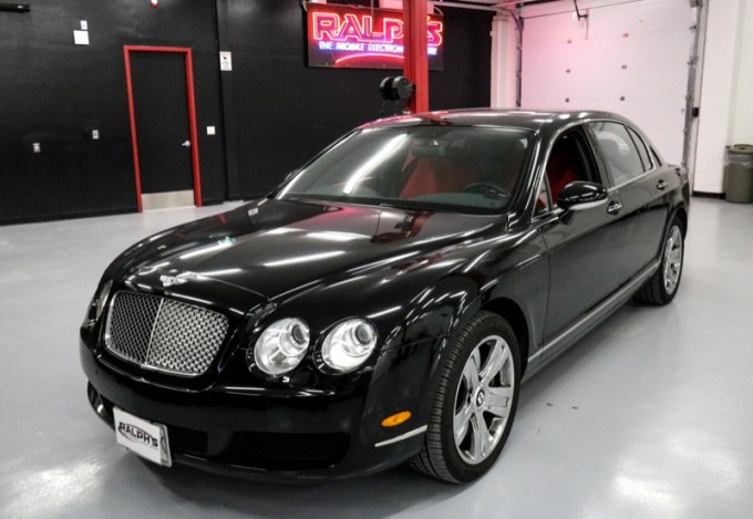 Infotainment Technology Upgrade for Vancouver Bentley Continental