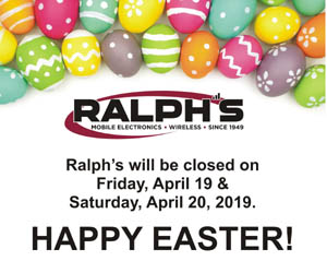 Closed Easter - 2019