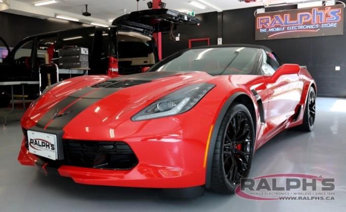 Corvette Laser