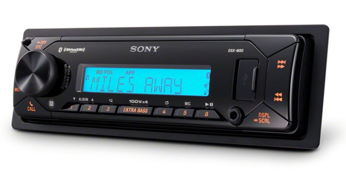 Product Spotlight: Sony DSX-M80 Marine Bluetooth Receiver