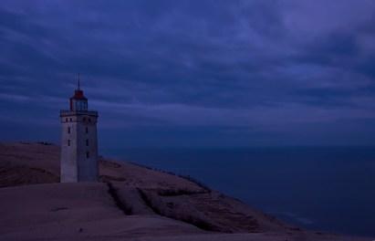 Morgens am Leuchtturm