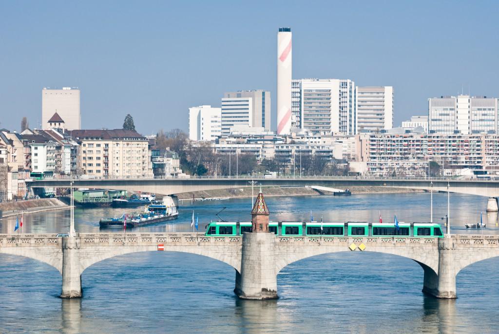 Die Basler Chemie (am Rhein)