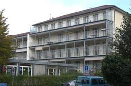 Das alte Kinderspital am Rhein