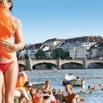 Lebensgefährliche Sprünge in den Rhein