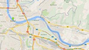 Karte Basel