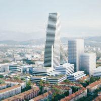 Roche Bau 2 und weitere (Bau) Pläne am Rhein