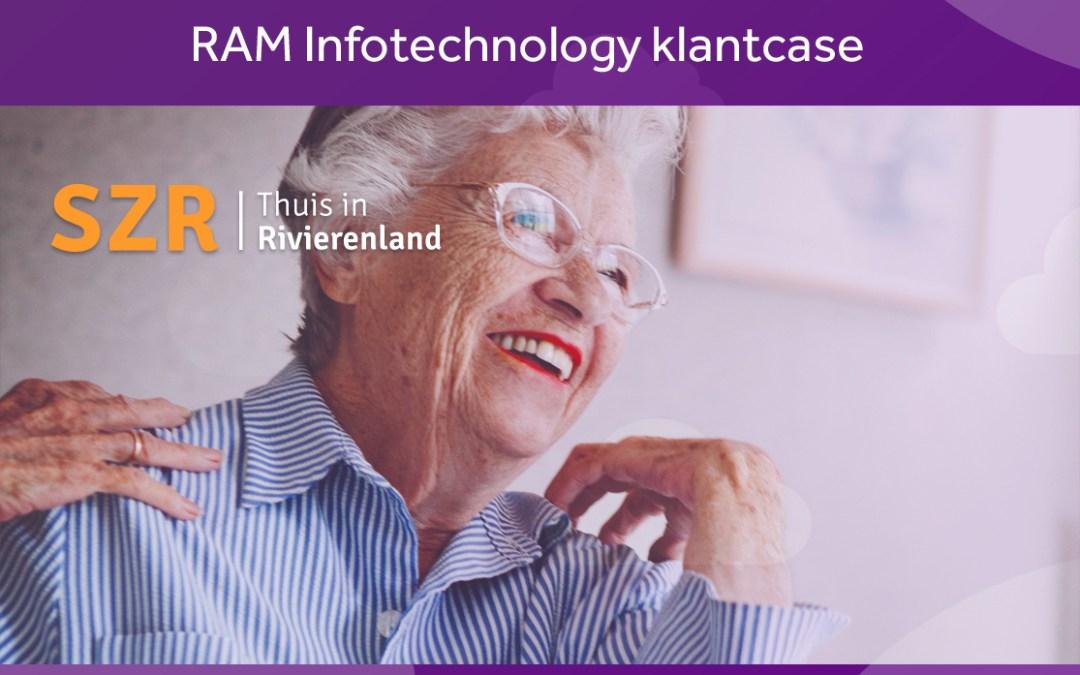 Nieuwe case: Stichting Zorgcentra Rivierenland stapt over op mobiele werkplekken