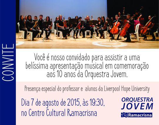 CONVITE - 10 anos da orquestra