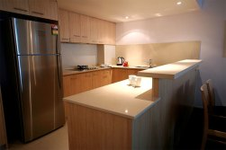 Hotel Spa Room kitchen