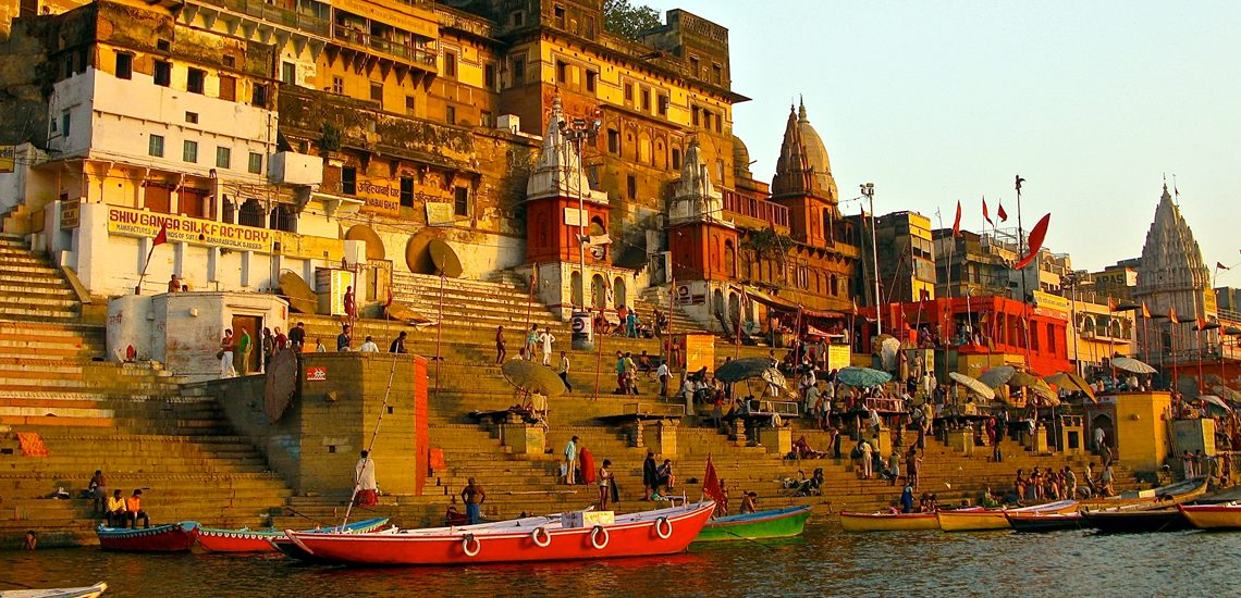 Image result for benaras ghat