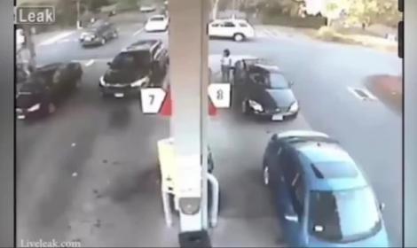 Tankstelle-Feir