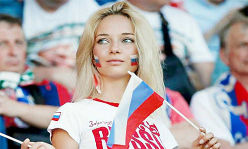 Rusland-Fans