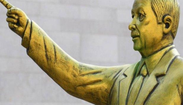 Erdogan-Statue