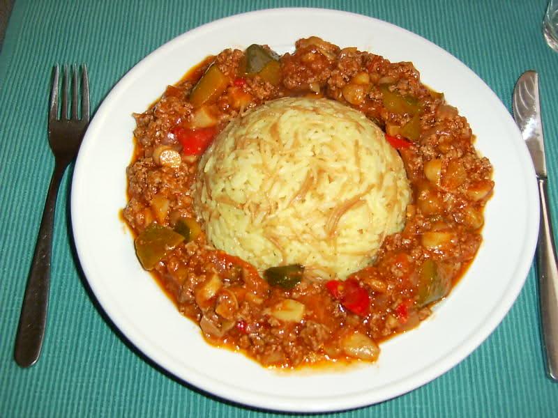 Ratatouille Niçoise met rijst
