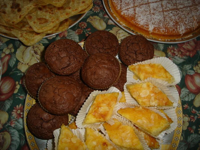 Chocolade brownie muffins