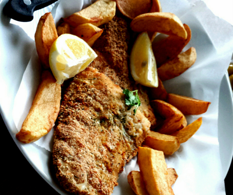 Fish and Chips zonder bier