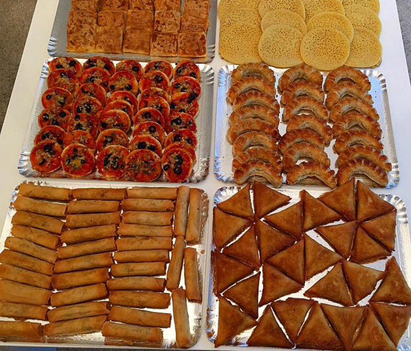 Top Ramadanrecepten.nl Briwat gevuld met kip (driehoekjes  &YK95