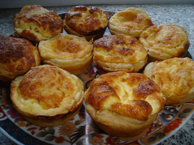 Mini quiches met garnalen
