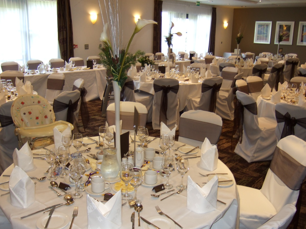 wedding chair cover hire wrexham pink hydraulic salon packages ramada plaza