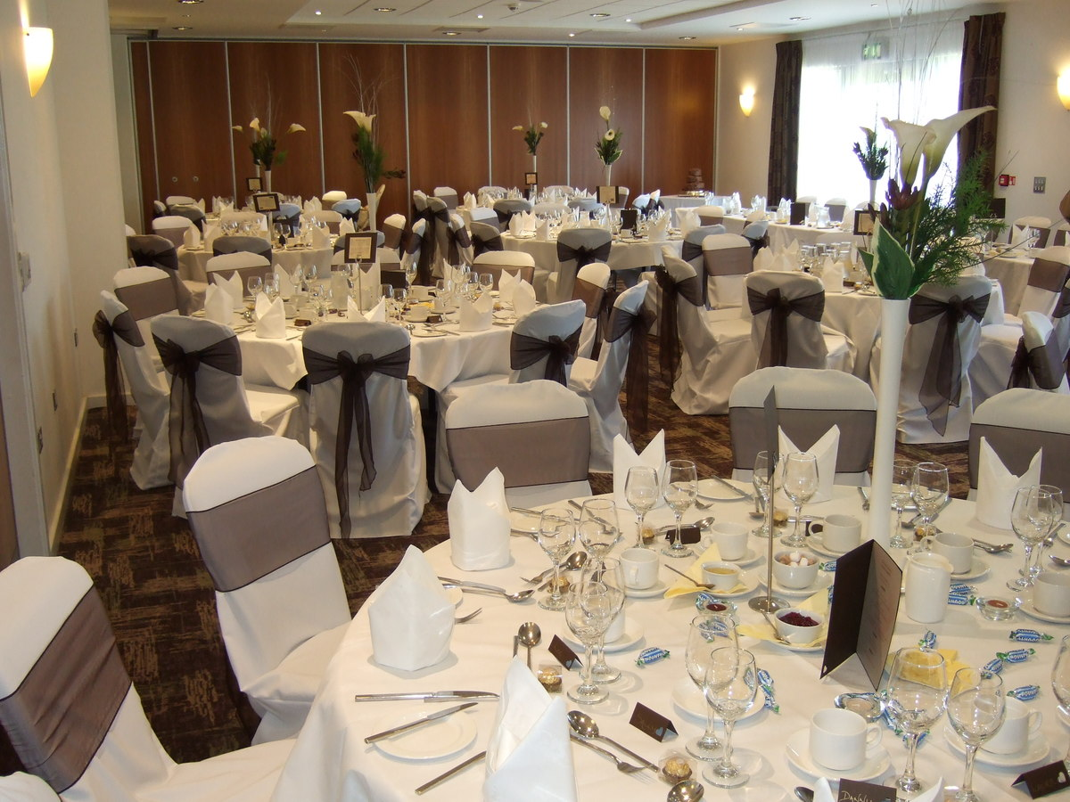wedding chair cover hire wrexham wwe steel toys packages ramada plaza