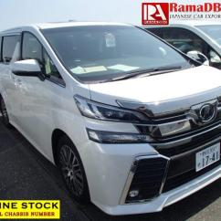 Toyota All New Vellfire 2.5 Zg Edition Camry Singapore Japanese Used 2 5z G 2015 Van Minivan For Sale