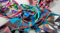 Silk italian scarves