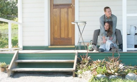 Alicia Vikander & Michael Fassbender in The Light Between Oceans
