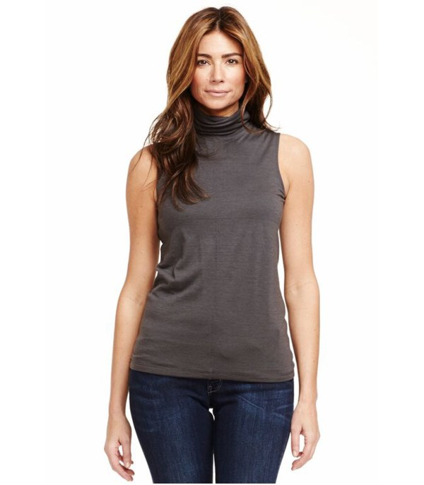 Women Sleeveless Turtleneck